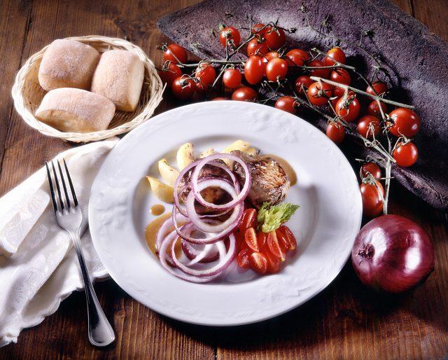 composizione di piatto