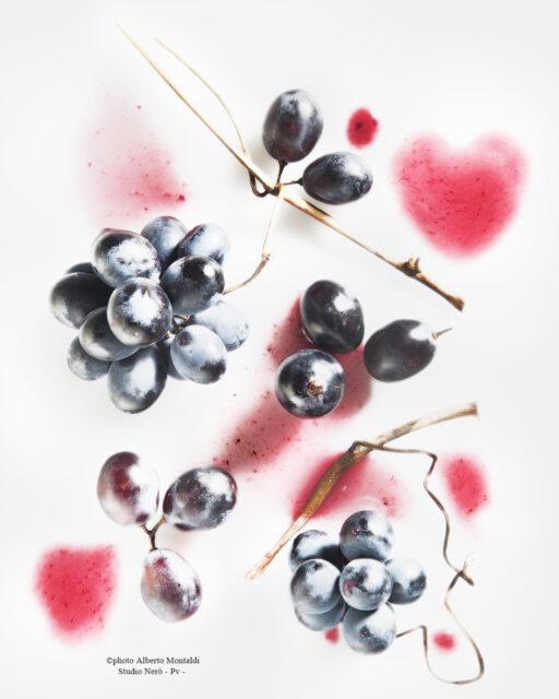 grappolini di uva nera